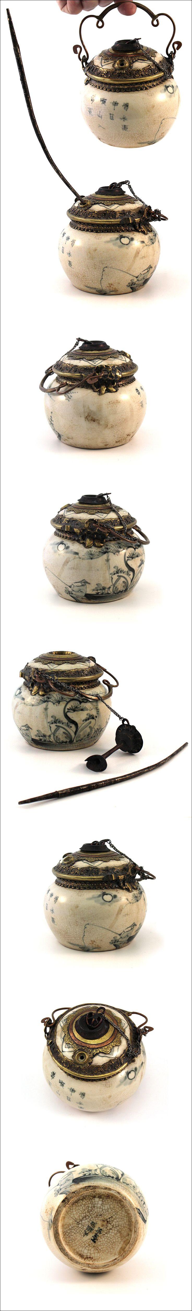 Ceramic Opium Pipe, Yunnan, South China