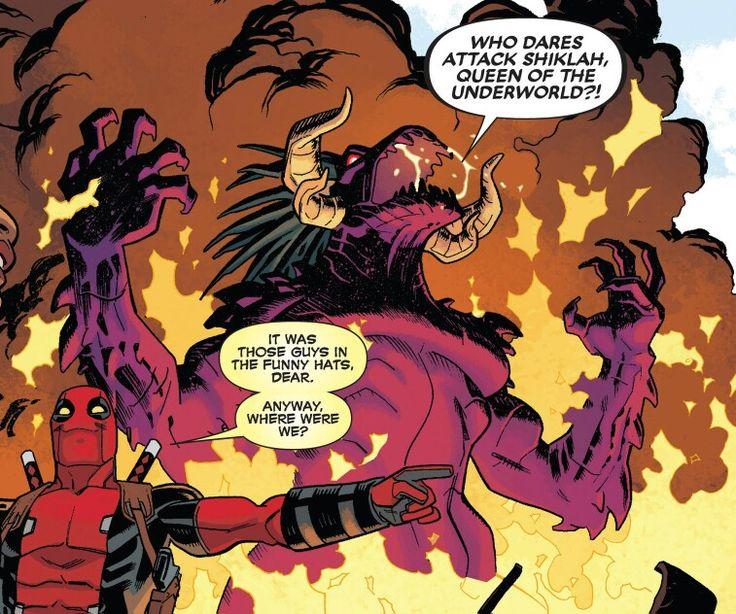 92 best Shiklah images on Pinterest   Marvel comics, Deadpool and ...
