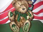 For Sale - Talking Teddy Bear DAN DEE 100th Anniversary Roosevelt 1902-2002 Green Trim XLNT