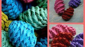 kroucené pletení - YouTube