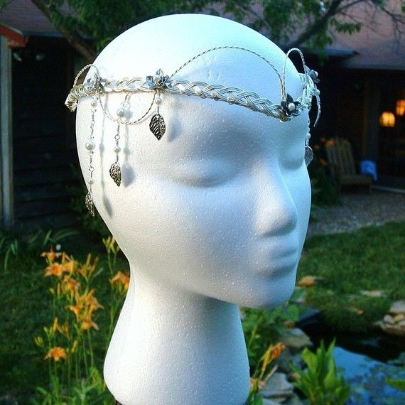 Elven Wedding Headdress Tom Bombadils by Thyme2dreamWeddings, $95.00
