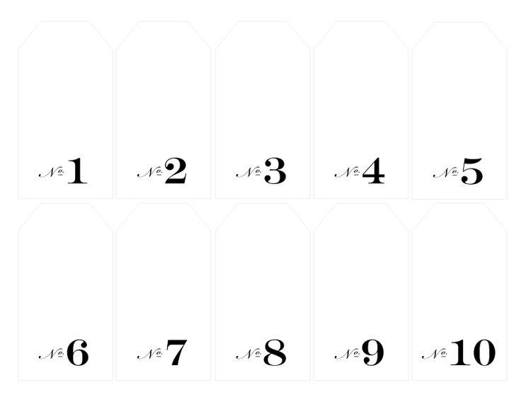 Best 25+ Free Printable Numbers Ideas On Pinterest