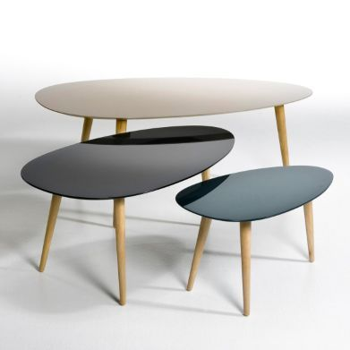 1000 images about tables basses tables hautes on for Table basse scandinave ampm