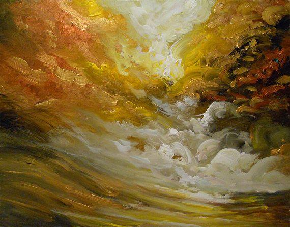 original painting lollipop tree art acrylic abstract by mattsart
