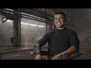 The Expendables 3: Victor Ortiz Interview --  -- http://www.movieweb.com/movie/the-expendables-3/victor-ortiz-interview