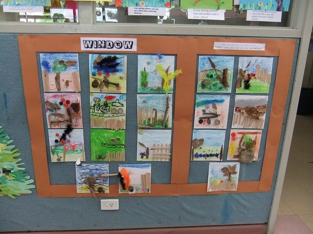 "Jeannie Baker inspired artwork from ""Window"""