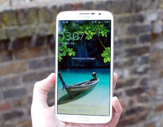 Samsung Galaxy Mega (© Dan Sung)