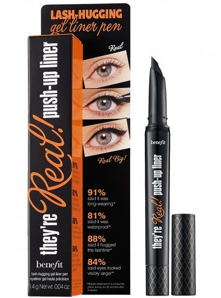 Benefit They're Real Push-Up Liner_lash-hugging gel liner pen, canNOT wait for this product to launch.
