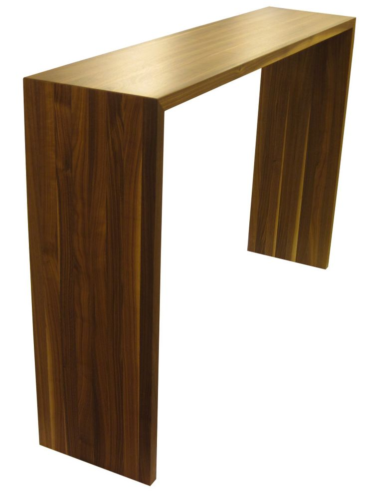 Walnut Bar Table For The Kitchen
