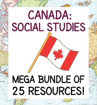 This listing includes 25 of my social studies/history resources that can be found in the following four bundles: Canadas Native Peoples Bundle of 7 Items; Explorers and Exploration Bundle of 7; Government Bundle of 7 Resources; Canadian Identity Bundle of 4 Resources. An amazing variety of activities, many with informational texts.