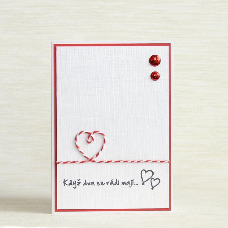 Srdcovka+Zamilované+přání+pro+zamilované+lidi.+Vhodné+jako+svatební+přání,+valentýnka+nebo+jako+přání+pro+milovanou+osobu.+Přání+je+formátu+A6. Součástí+přání+je+bílá+obálka.