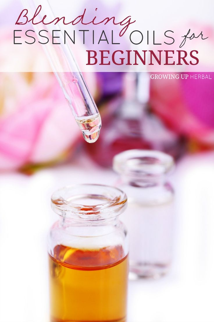 Blending Essential Oils For Beginners | Growing Up Herbal | Interested in creating your own EO blends? Come learn the easy method I use!