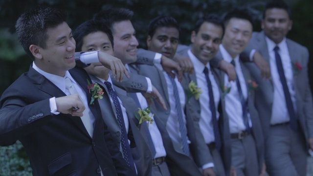 The groom's adorable and romantic rendition of City and Colour's 'The Girl' starts off this amazing wedding video. What a lovely surprise to give to your bride on the big day! Her tears and giggles certainly showed her appreciation for her husband's efforts! Here are Vivien and Michael's highlights at Arcadian Loft (btw, food was delish!). (www.henjofilms.com)