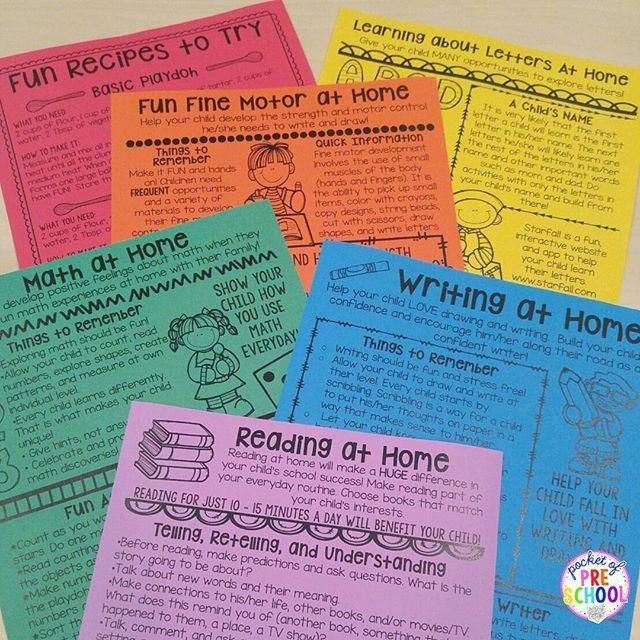 Classroom Handout Ideas ~ Best ideas about preschool newsletter on pinterest