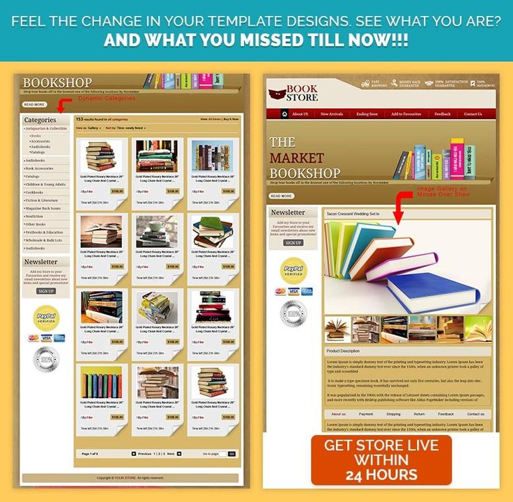 16 best Books  CDs Theme eBay Store  Listing Templates images on - ebay store templates