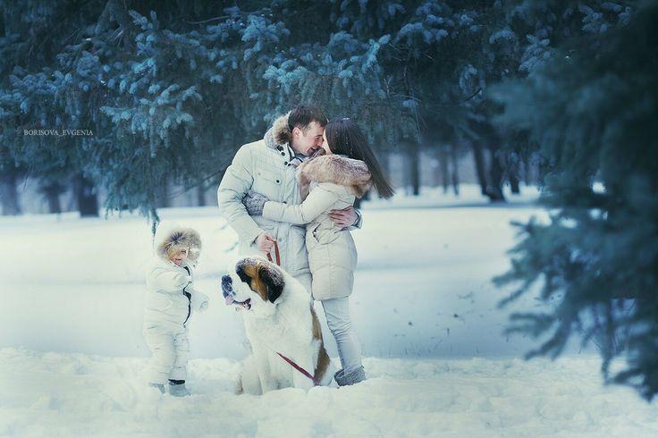 Семейная фотосессия семейный фотограф детский фотограф familyphoto family kids winter winter photo