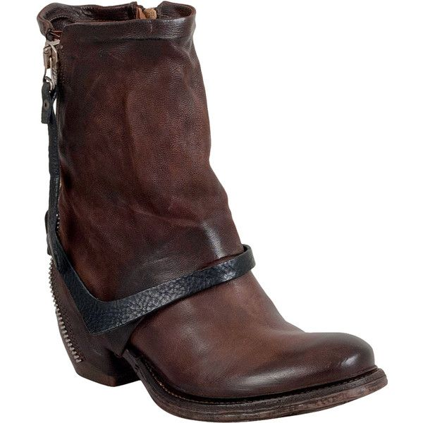 Now $280 - Shop this and similar A.S. 98 boots - Motorcycle boots with style and attitude to spare. A.S.98 Cayden features a quality Italian leather upper burni...