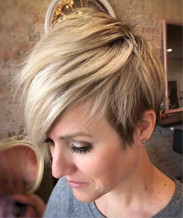28 Big, Short Hairstyles for Women 2019  #big #hairstyles #short #women