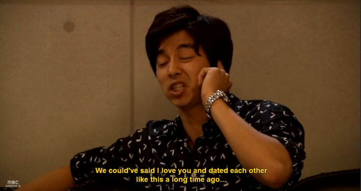 hahaha... I feel like this line relates to all kdramas because of all the misunderstandings, and less... Can't forget the evil mothers! (x Coffee Prince (커피프린스 1호점)