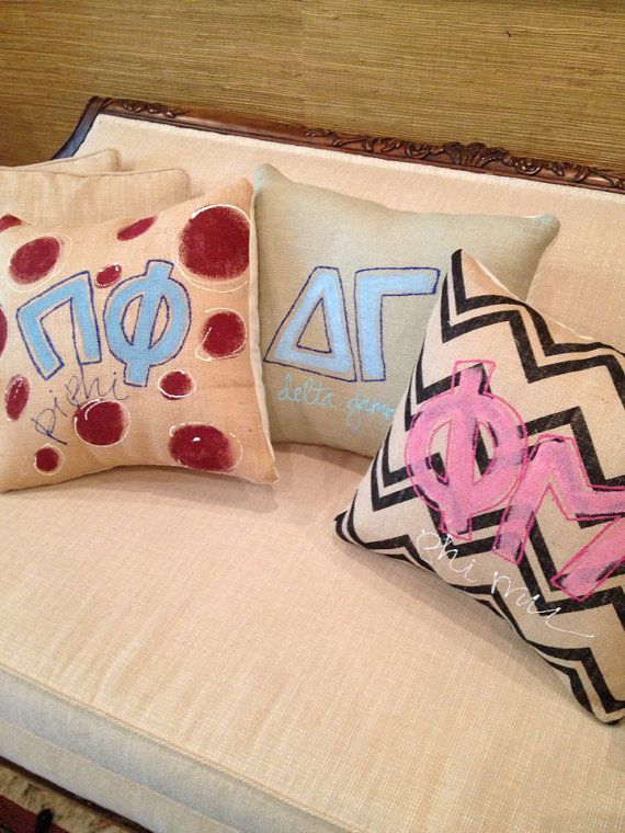 Sorority Pillows Ideas: 66 best Sorority Pillow Exchange images on Pinterest   Paddles    ,