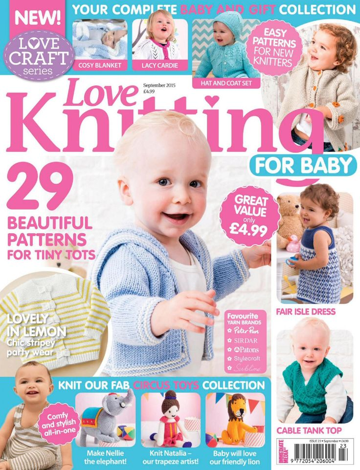 Love Knitting for Babies 2015 09