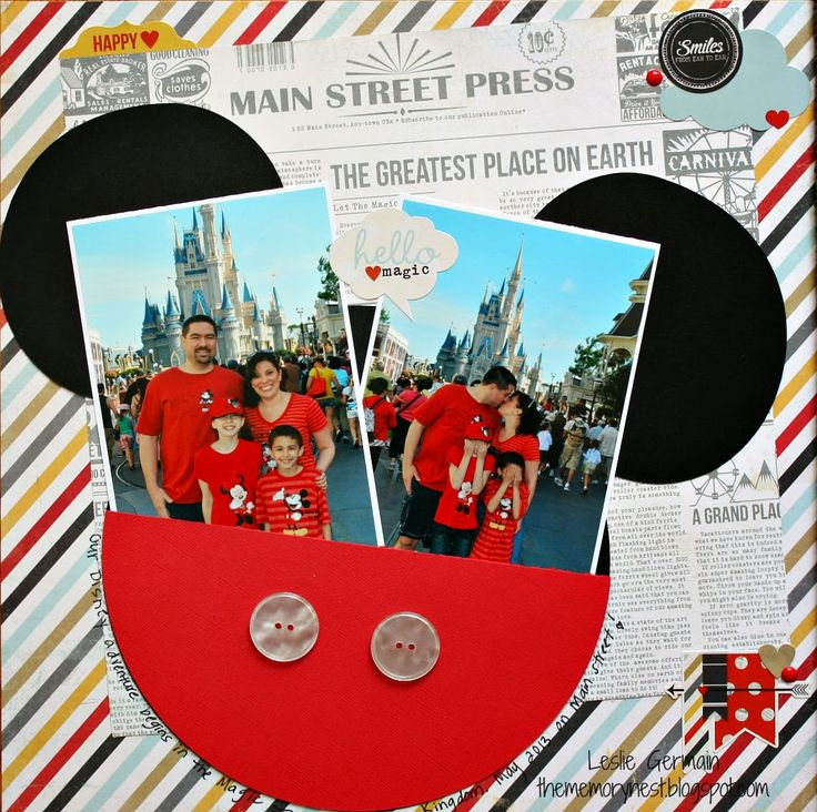 The Memory Nest: Disney Pages with Simple Stories