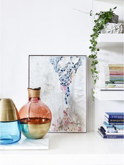 Stacking Vessel Pia Wüstenbergtől - fa, üveg vagy kerámia és fújt üveg vázák