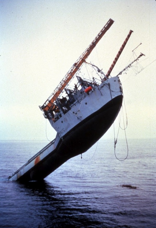 The Scripps Ship That FLIPS
