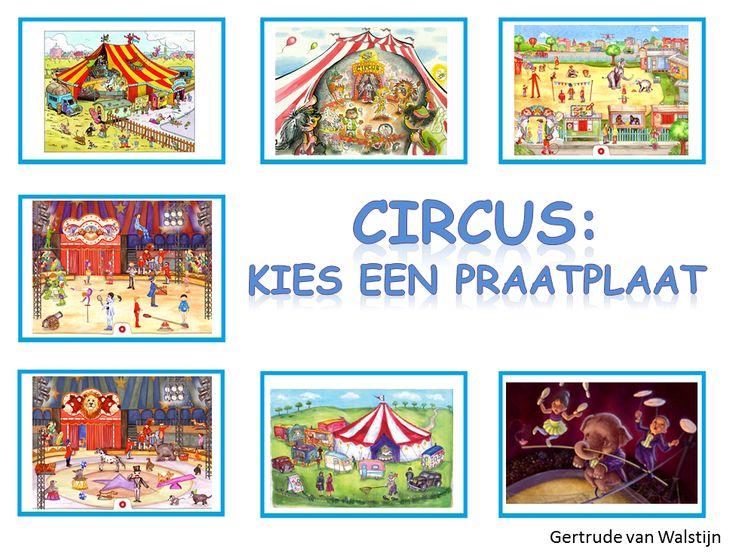 7 verschillende praatplaten voor het digibord over het circus.    http://leermiddel.digischool.nl/po/leermiddel/e61f4c0d2252e914b3c05f2a5684a4f6?s=2.2