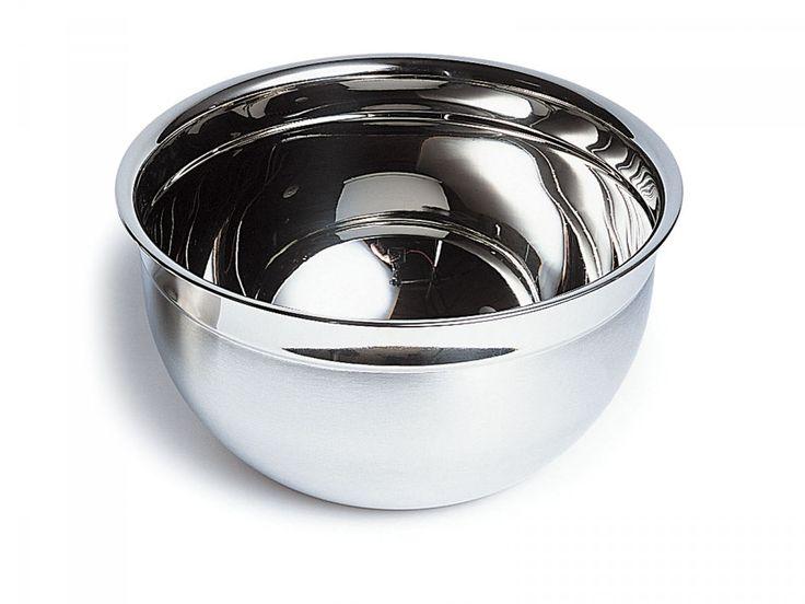 Deep Stainless Steel Mixing Bowl, 27cm  - David Mellor Design