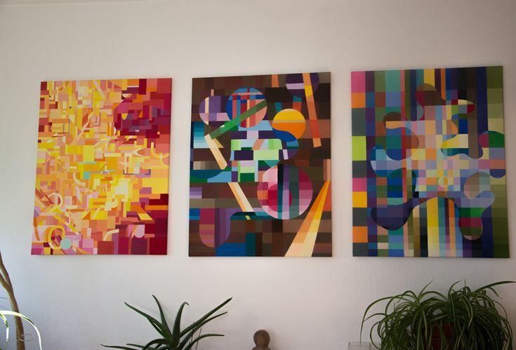 Malerei mit Wasserfarben