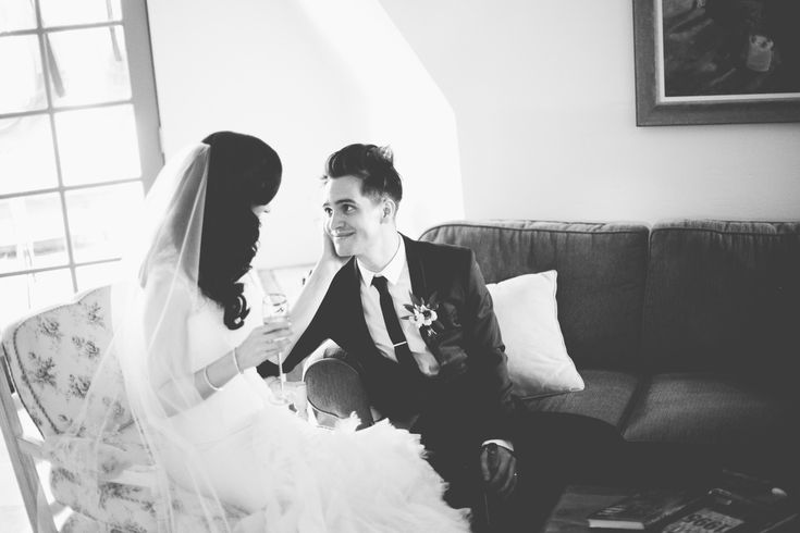 My cutie musical crush Brendon Urie got married this summer. Such a gorgeous wedding!!!