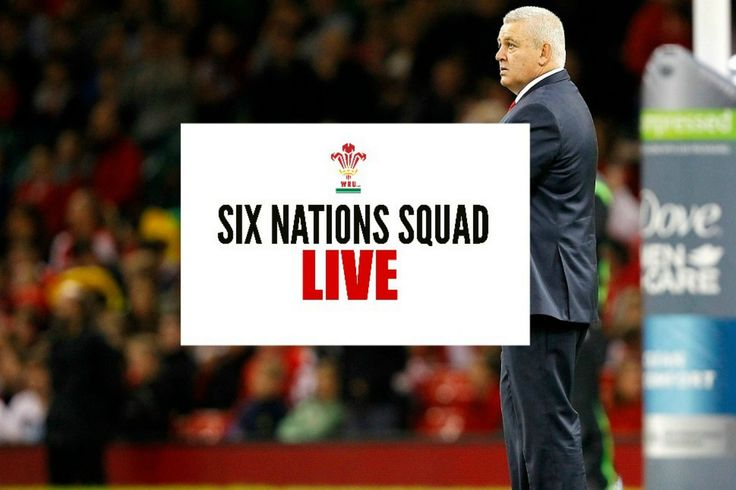 Wales squad announcement live: Warren Gatland to name Six Nations squad with Gareth Anscombe tipped for call-up