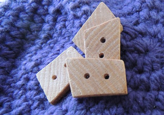 Hey, I found this really awesome Etsy listing at https://www.etsy.com/ca/listing/468859010/large-end-grain-oak-buttons-trapezoid