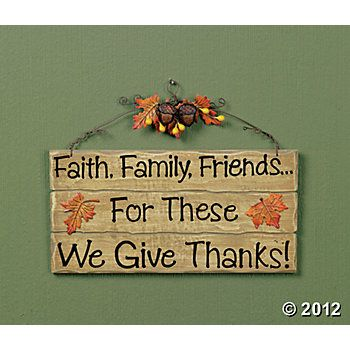 """""""We Give Thanks!"""" Sign"""