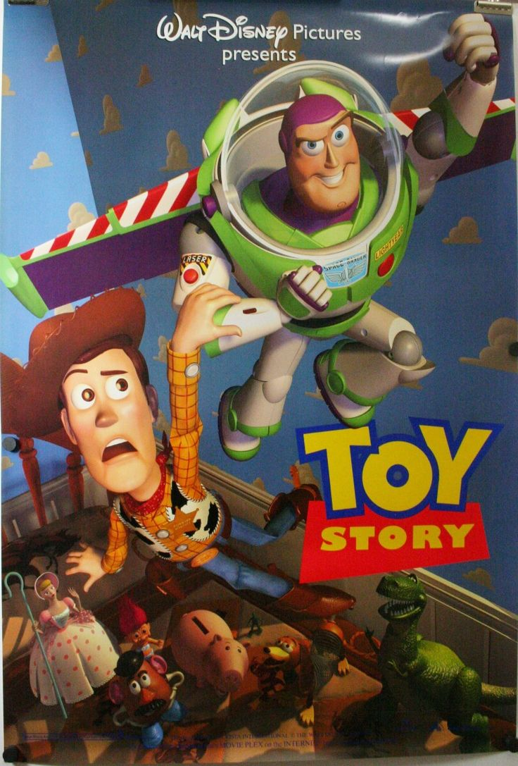 tom hanks movie posters | ... STORY, Tom Hanks Tim Allen Original DS Teaser Blue Style Movie Poster