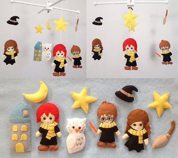 Harry Potter Theme Baby Mobile.