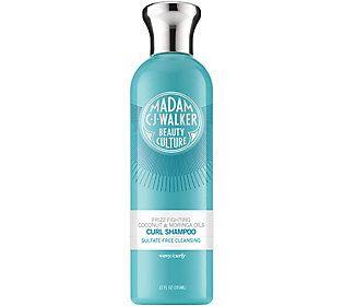 Madam C.J. Walker Coconut & Moringa Oils Curl Shampoo 12 oz.