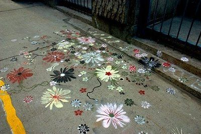 I may just be crazy enough to decorate my drive way...just sayin'