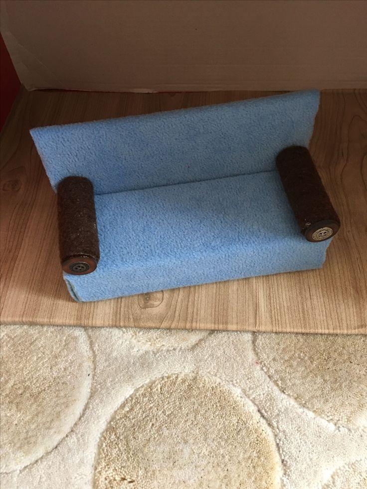 İlac kutusundan koltuk(made by berrin)
