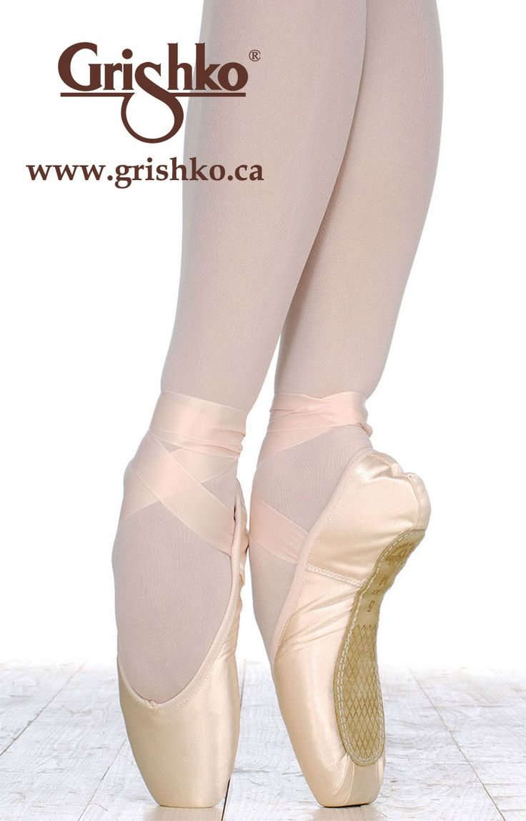 Grishko 2007 - A revolution in pointe shoe design, anatomically formed to a  dancer's foot for the highest level of comfort and aesthetics