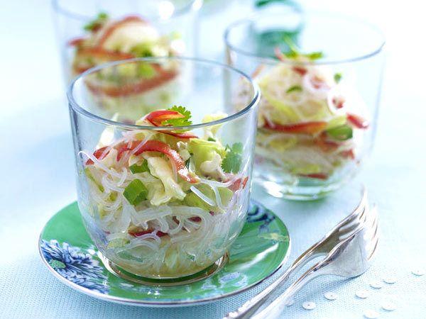 Silvesterparty - tolle Rezepte für den Jahreswechsel - scharfer-glasnudelsalat Rezept