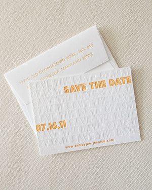 Modern Save-the-Dates