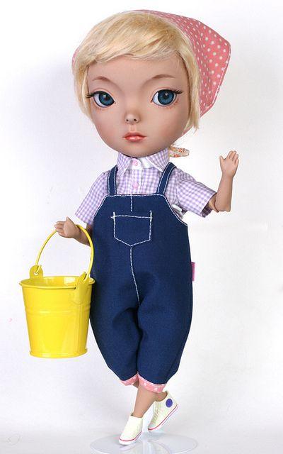 MJ.Koo (Tan) | preparing Dollfreemarket | Mi Jung GU | Flickr