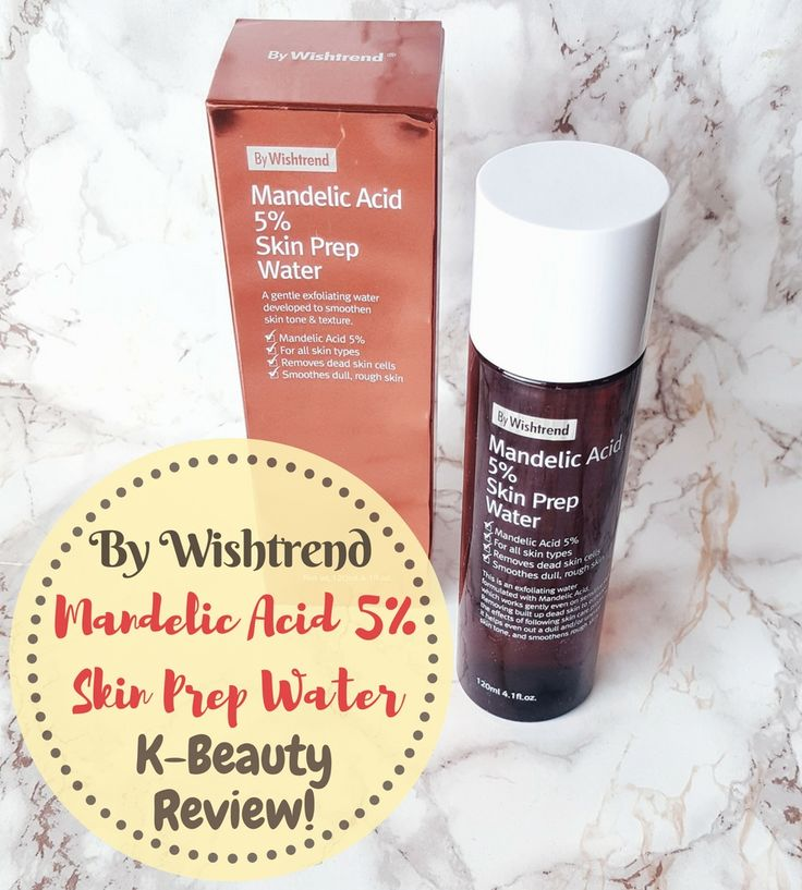 The By Wishtrend Mandelic Acid 5% Skin Prep Water is a newly launched Korean exfoliating toner. Find out if it lives up to its promise of smooth, even skin!