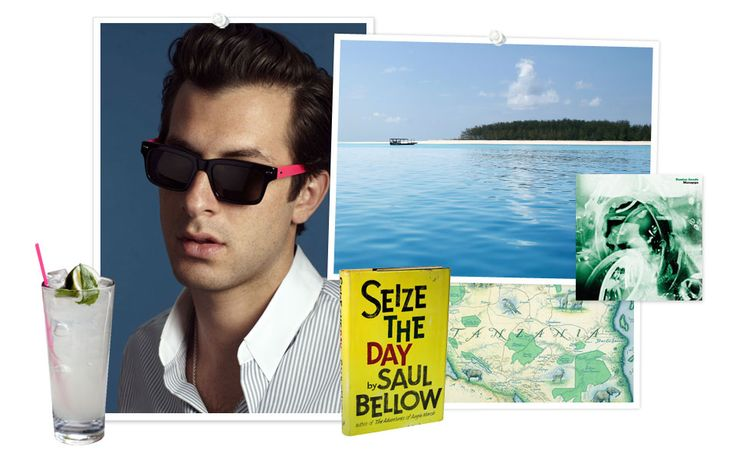Summer Getaway: Mark Ronson: Handbags Tory, Tory Daily, Tory Blog, Posts, Summer Getaways, Mark Ronson