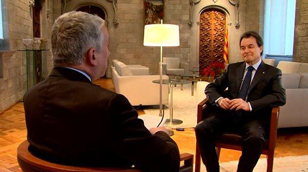 """Mas en la BBC: """"No se podrá convencer a los catalanes de que no tienen el derecho a votar"""""""