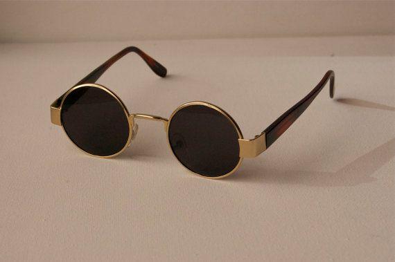 John Lennon Vintage Deadstock Round Sunglasses by Awake87 on Etsy, $9.98