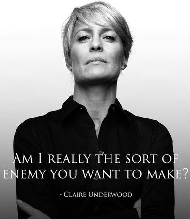 5 Times #ClaireUnderwood was a TOTAL #bosslady ... #HouseofCards via @netflix and @victoriasneden1
