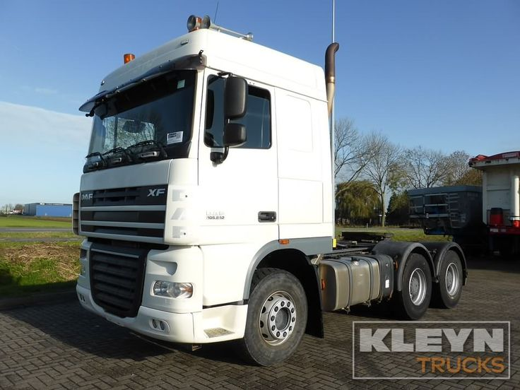 For sale: Used and second hand - Tractor unit DAF XF 105.510 #daftrucks #kleyntrucks